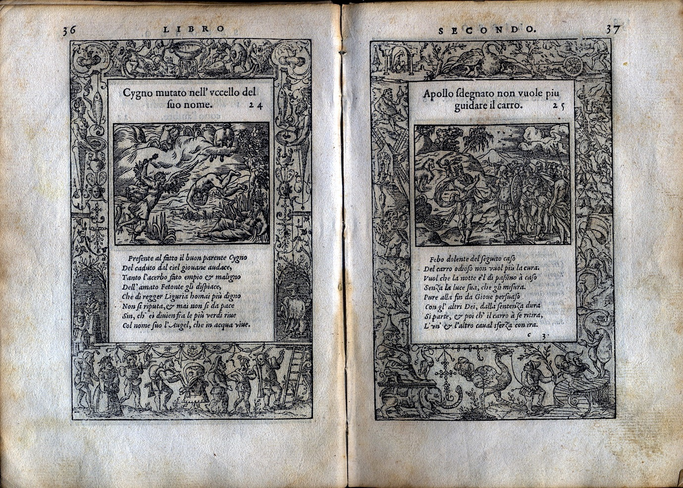 LA VITA ET METAMORFOSEO D'OVIDIO Giovanni di Tornes Lione 1519 5 copia