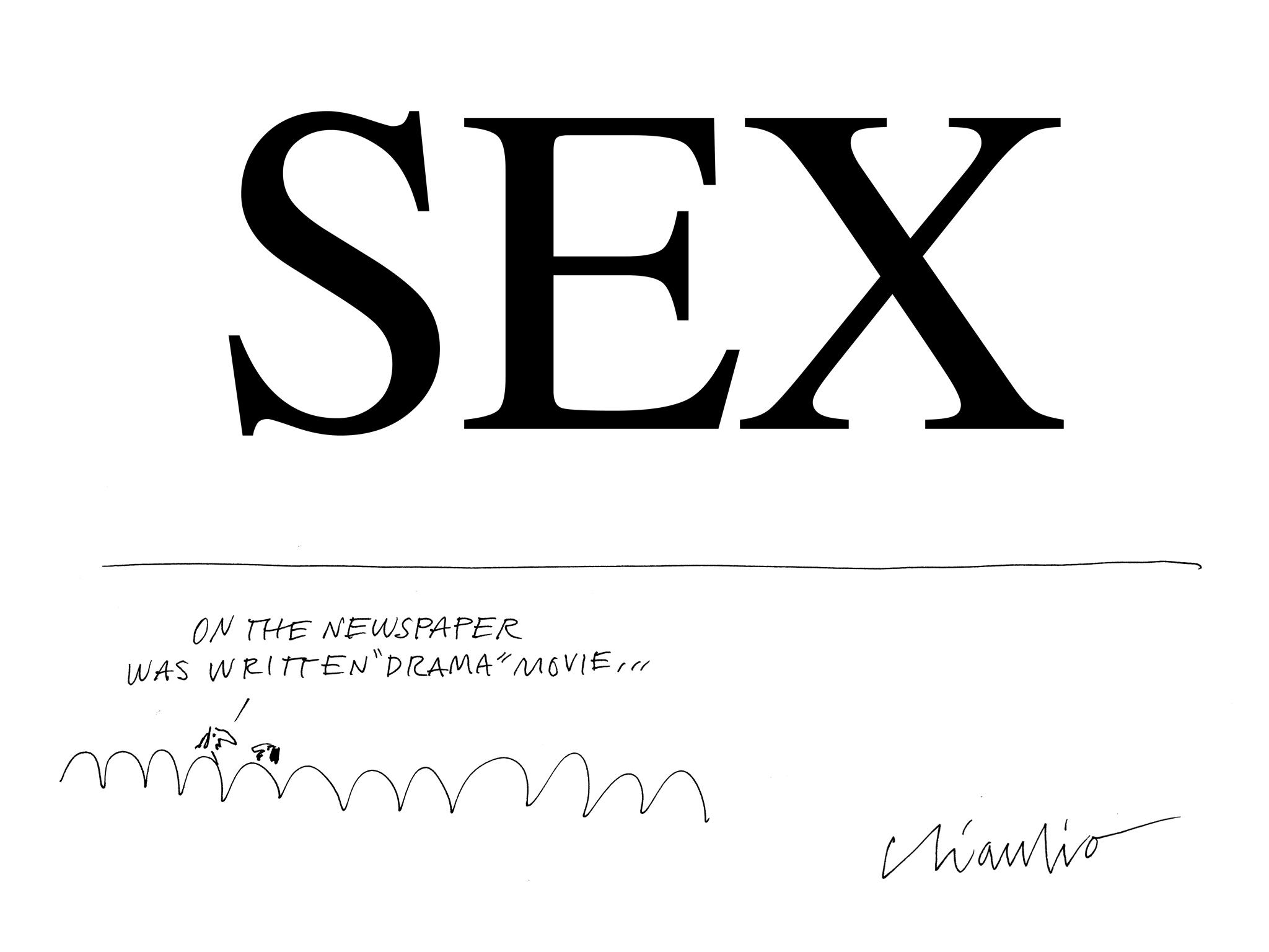 FRANCESCO CHIACCHIO - SEX