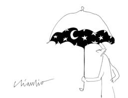 umbrella stars ombrello stelle
