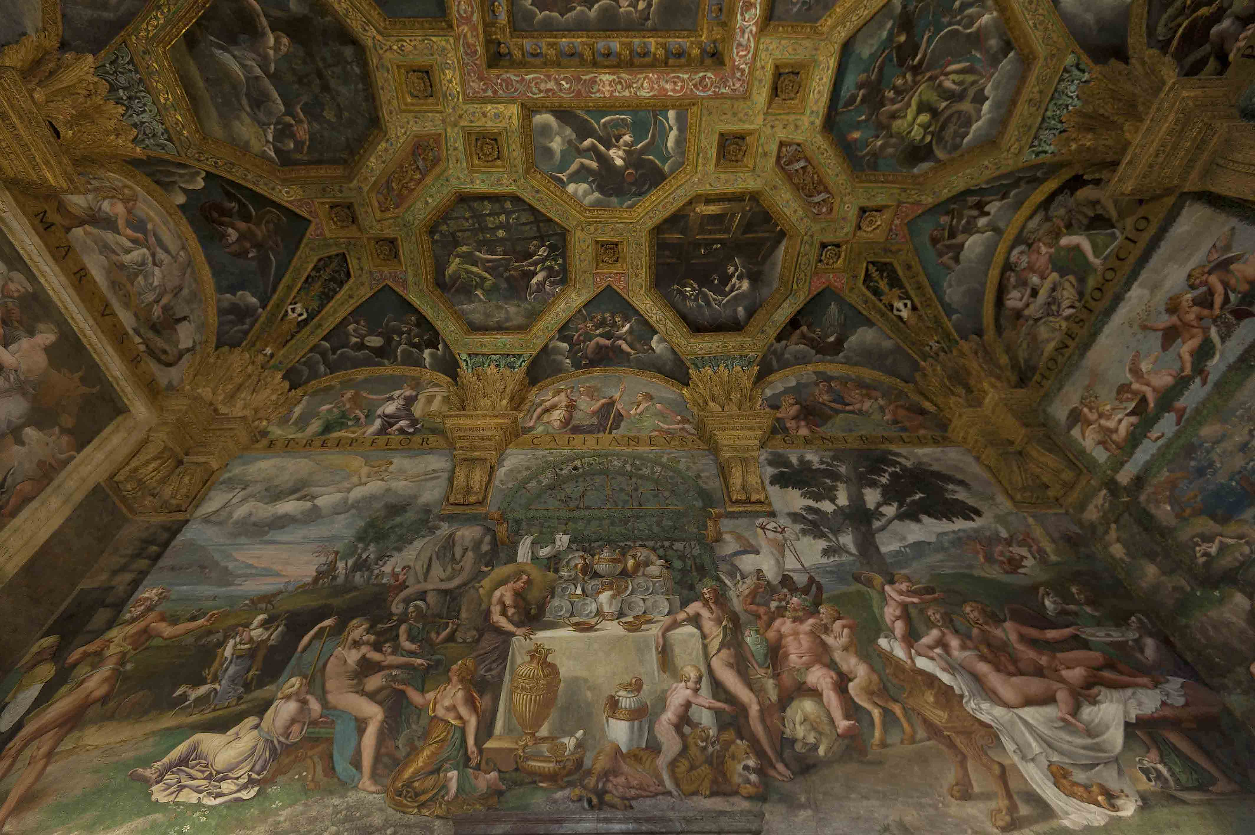 Palazzo te in mantova for Stanza mantova