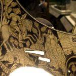 Sella da parata, arte tedesca, XV secolo. Firenze, Museo Nazionale del Bargello
