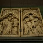 Dittico con la Vergine e la Crocifissione, Francia, ca. 1350. Firenze, Museo Nazionale del Bargello