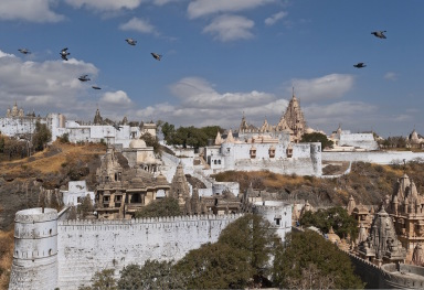 THE PALITANA TEMPLES IN GUJARAT