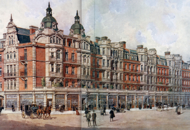 LONDON ARCHITECTURE AT THE BEGINNING OF THE XXTH CENTURY