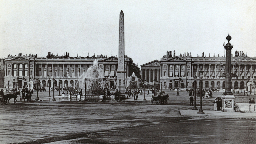 Place de la Concorde et la Madeleine