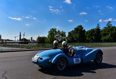 THE MILLE MIGLIA 2016 IN FLORENCE
