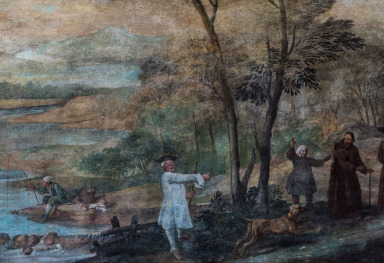 PIER LEONE GHEZZI'S PAINTINGS IN THE VILLA FALCONIERI IN FRASCATI