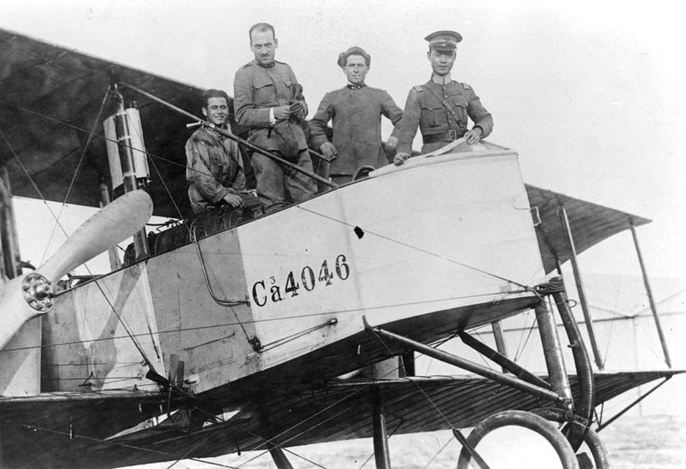 Caproni Ca 450 HP matr 4046 pilotato da Lt John Park della 13 Sq, 4th Group nel 1918