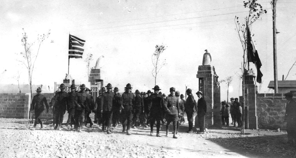 Ingresso dei cadetti al Campo Sud di Foggia_28.09.1917