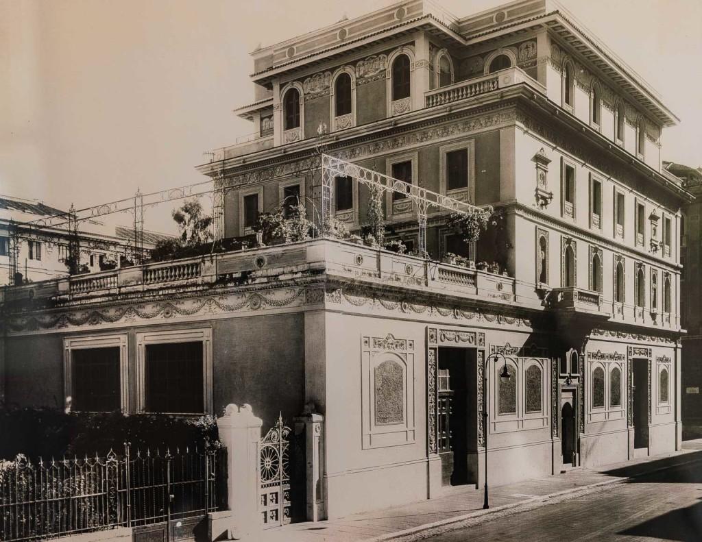 Villa Helene agli inizi del XX secolo