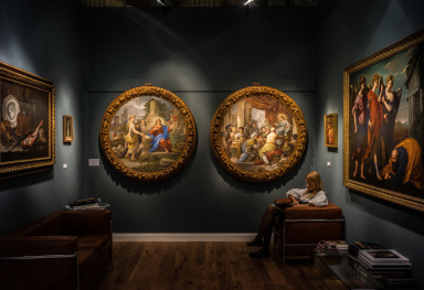 THE BIENNALE DI ANTIQUARIATO IN FLORENCE