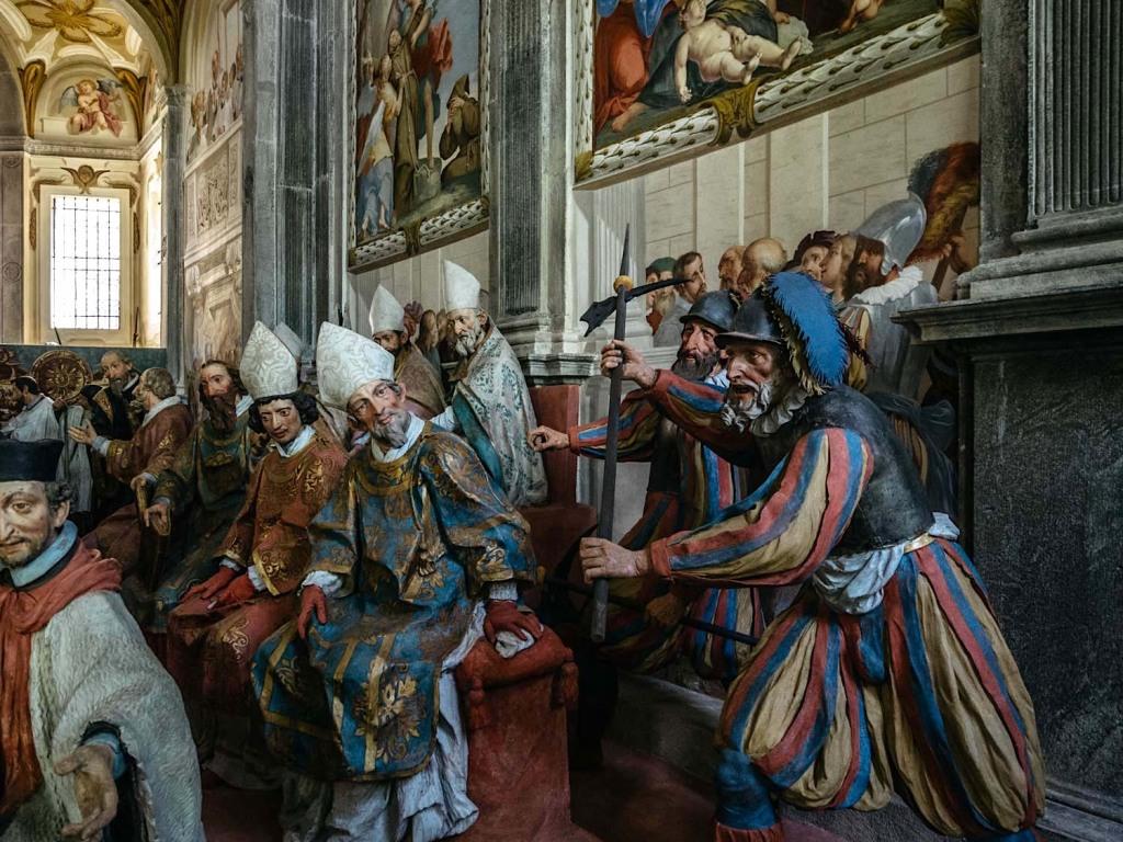 chapel XX • the canonization of Francis cappella XX • la canonizzazione di Francesco