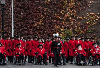 POPPY DAY IN LONDON