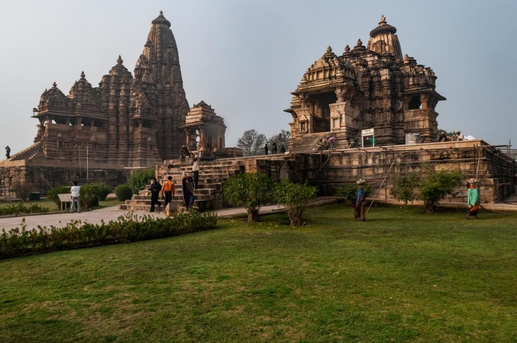 India- Madhya Pradesh - Khajuraho Main temples site