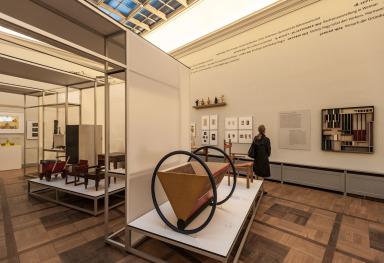 IL VECCHIO BAUHAUS MUSEUM A WEIMAR