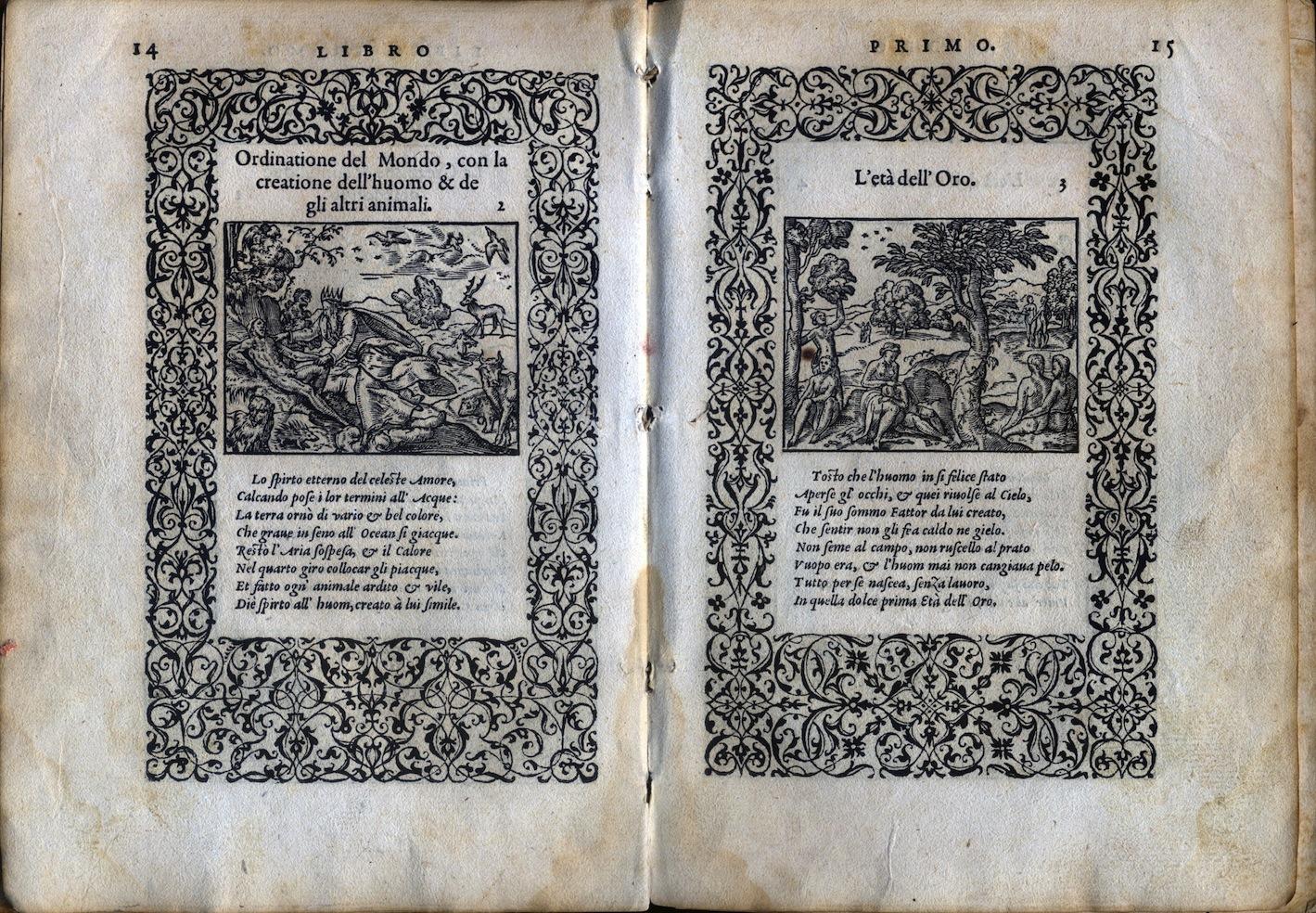 LA VITA ET METAMORFOSEO D'OVIDIO Giovanni di Tornes Lione 1519 3 copia
