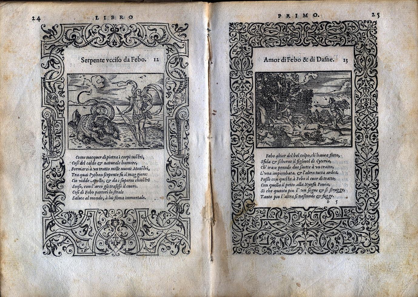 LA VITA ET METAMORFOSEO D'OVIDIO Giovanni di Tornes Lione 1519 4 copia