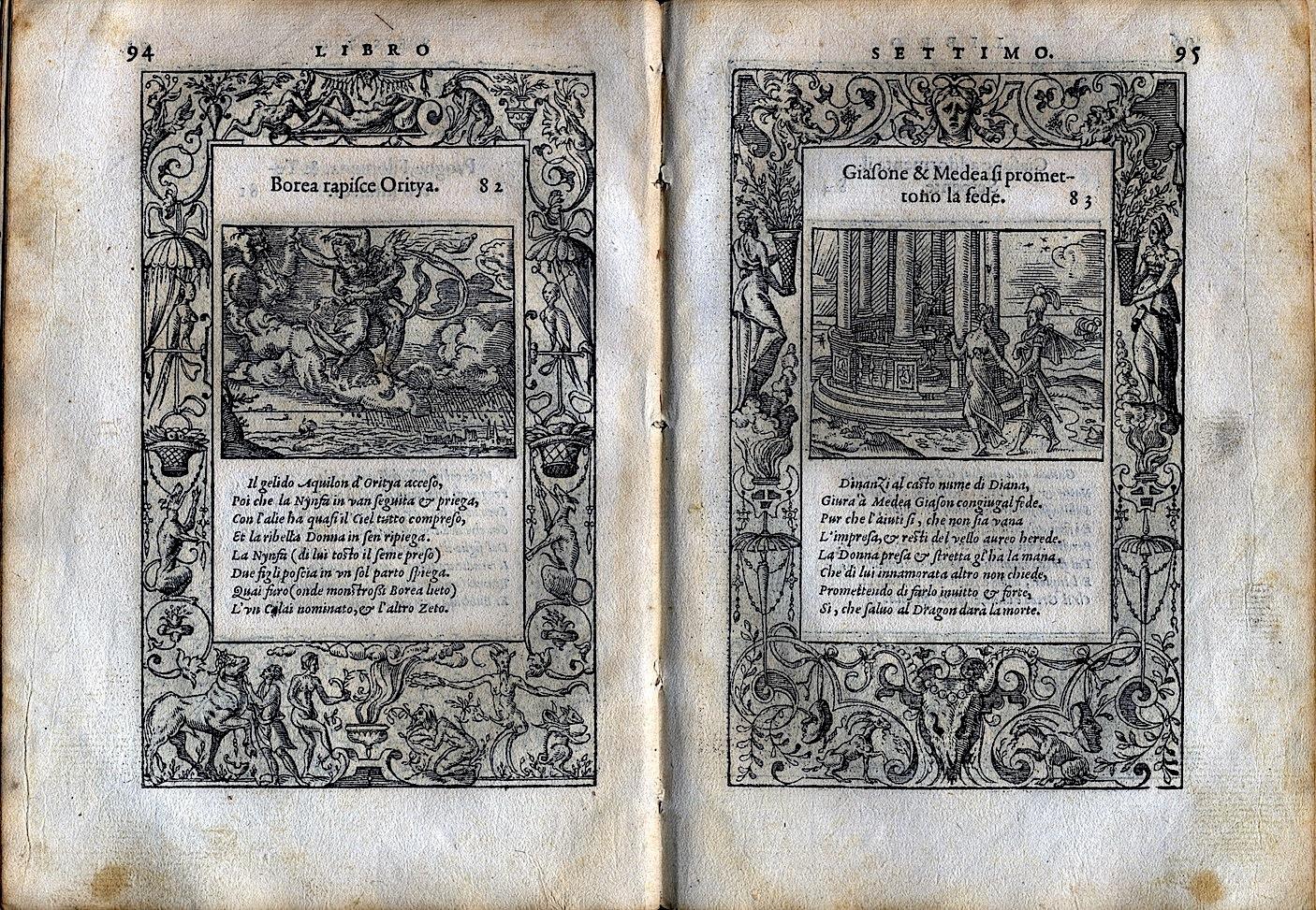 LA VITA ET METAMORFOSEO D'OVIDIO Giovanni di Tornes Lione 1519 7 copia