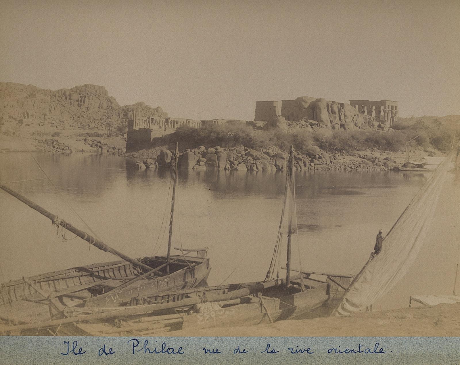 21-Beato-Ile de Philae-vue de la rive orientale