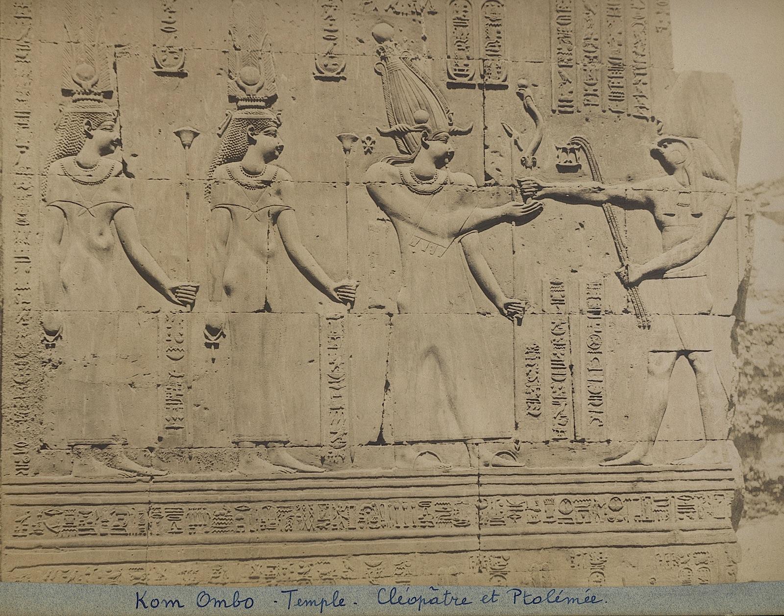 81-Beato-Kom Ombo-Temple-Cleopatre et Ptolémée