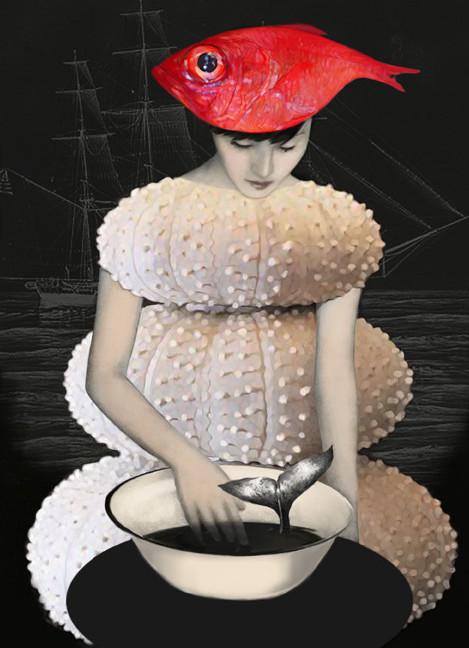 un chapeau de poissons  copia
