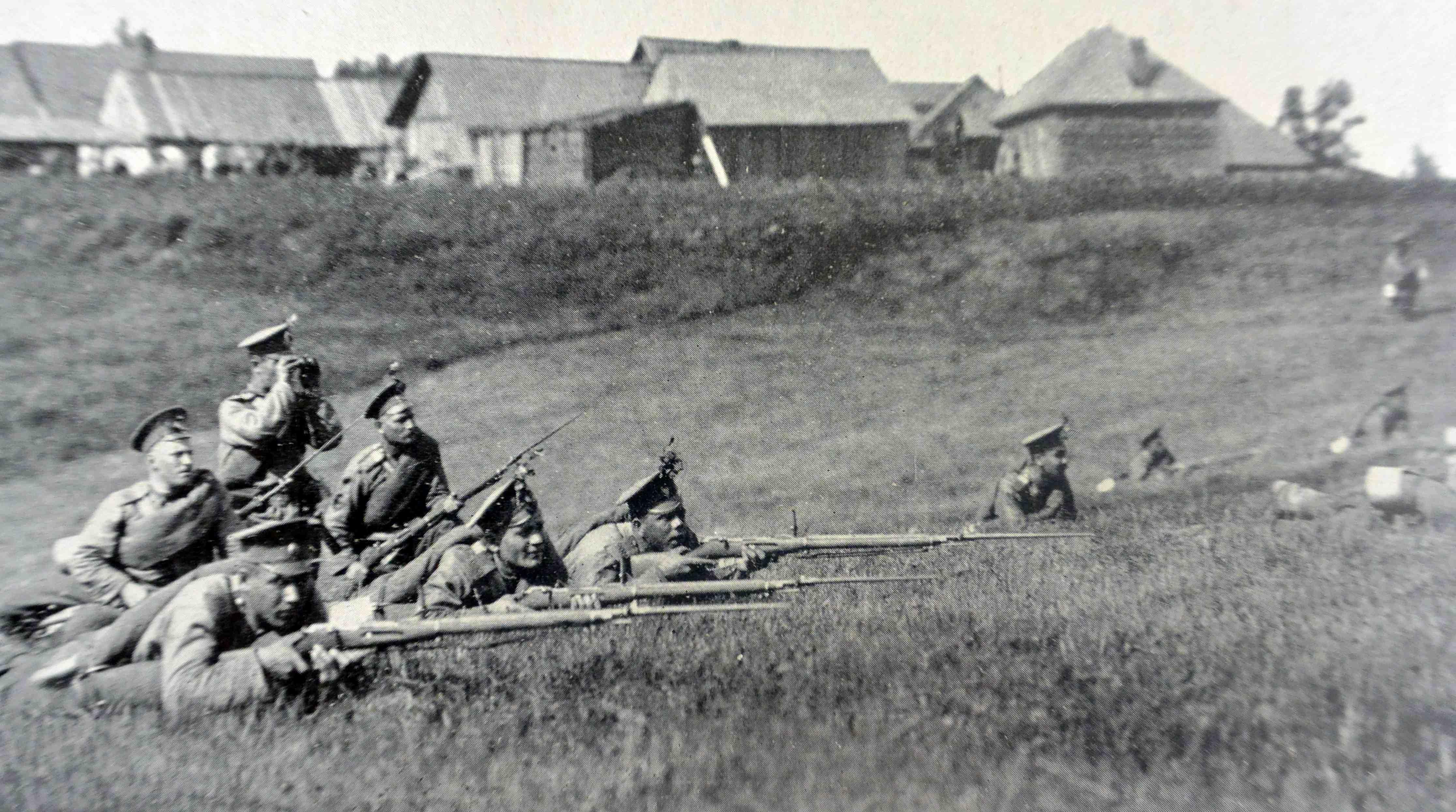 Russian infantry - La fanteria Russa