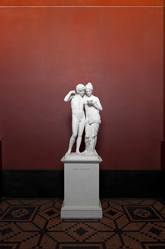 Amore e Psiche Museo Thorvaldsen Bertel Thorvaldsens Plads 2 Copenhagen