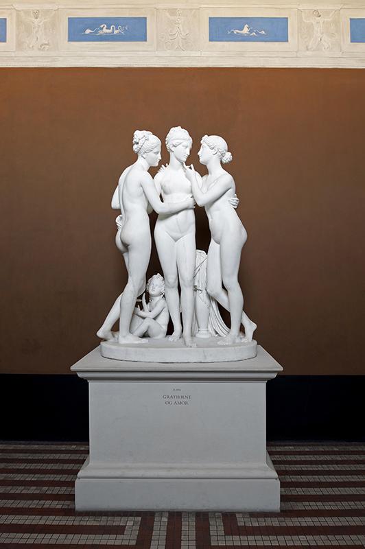 Tre Grazie Museo Thorvaldsen Bertel Thorvaldsens Plads 2 Copenhagen