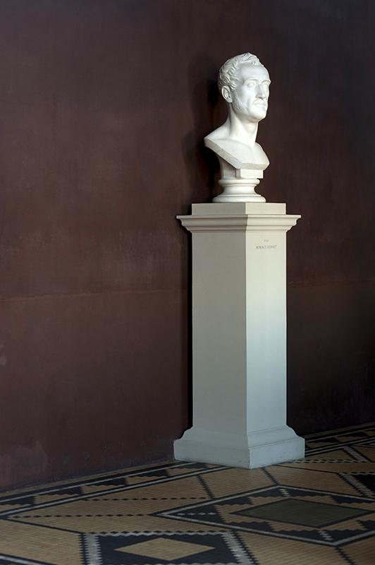 Busto di Horace Vernet Museo Thorvaldsen Bertel Thorvaldsens Plads 2 Copenhagen