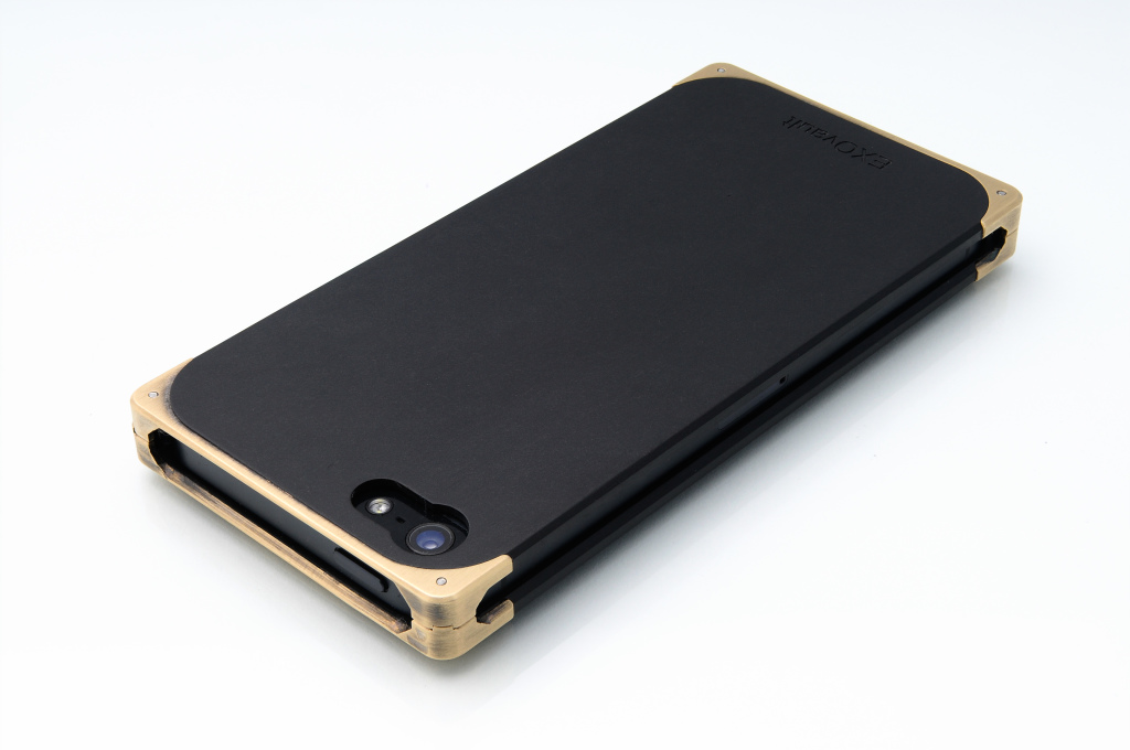 EXO16 Brass Composite back angle