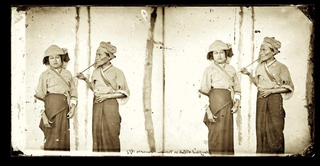 1871, Baksa women, Formosa • donne Baksa , Formosa