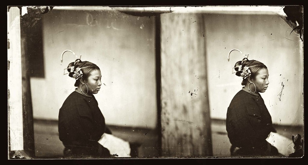 1871, A women of Fukien, China • Una donna di Fukien Cina