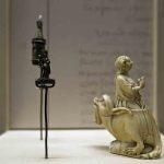 Statuetta di santa Margherita di Antiochia, Francia ca. 132. Firenze, Museo Nazionale del Bargello
