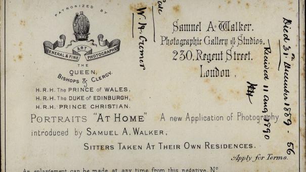 Ritratto di W.H.Cramer di Samuel A. Walker