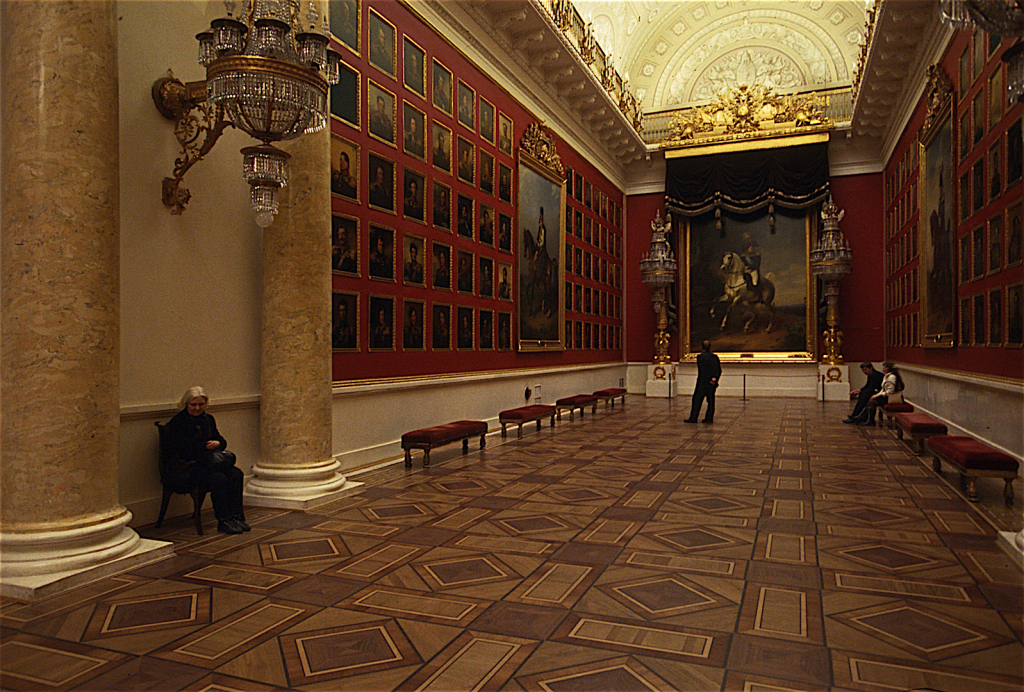 Saint Petersburg, Russia • Ermitage Museum