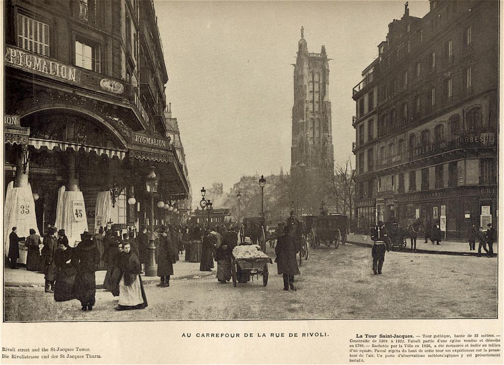 incrocio di Rue de Rivoli copia