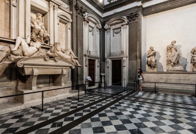 THE NEW SACRISTY OF THE MEDICI CHAPELS IN FLORENCE
