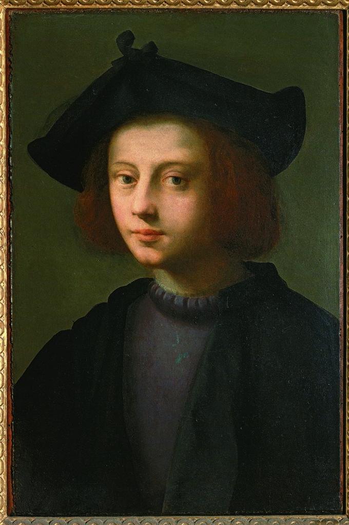 Domenico Ubaldini detto il Puligo (Firenze 1492–1527) Ritratto di Pietro Carnesecchi 1527 Olio su tavola Firenze, Gallerie degli Uffizi, Galleria delle Statue e delle Pitture