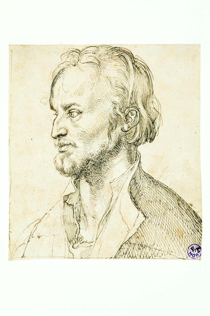Albrecht Dürer (Norimberga 1471 - 1528) Filippo Melantone 1526 ca Disegno a penna e inchiostro su carta Firenze, Museo Horne
