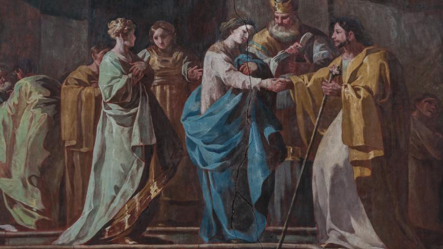 Los Desposorios (305 x 790 cm)