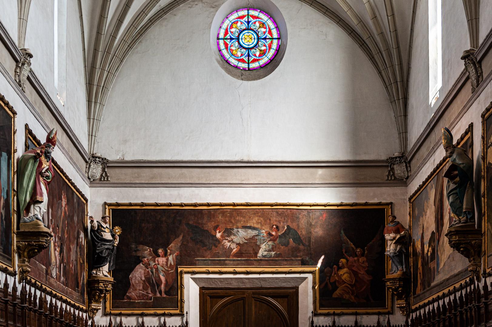 Pórtico de San Joaquín y Santa Ana (305 x 845 cm)