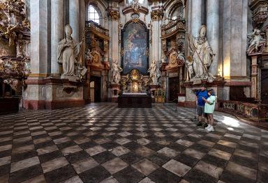 THE SAINT NICHOLAUS CHURCH IN PRAGUE